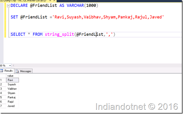 string_Split_Function_sql_server_2016_Indiandotnet